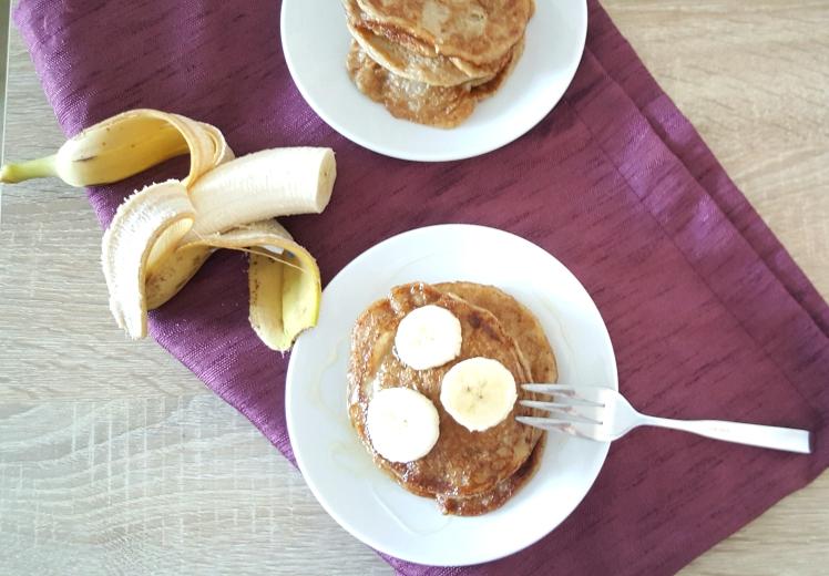 wegańskie placuszki bananowe