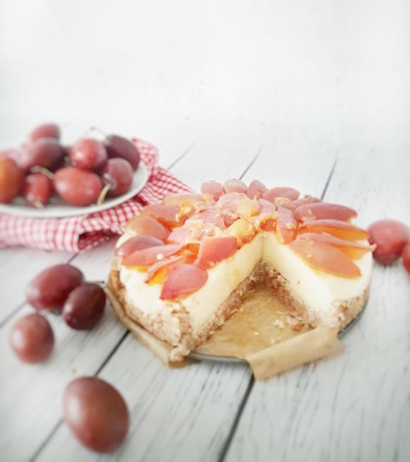 weganskie.ciasto.sliwkowe